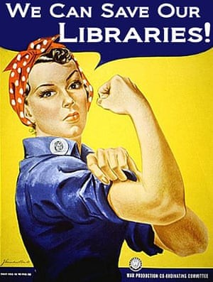 I love my library and will volunteer